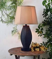 kenroy home 32203brz sunset outdoor table lamp table lamps for your porch deep