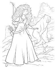 111 Dessins De Coloriage Rebelle Imprimer Coloriage Princesse Rebelle L