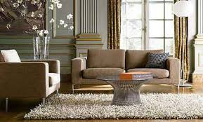 Rugs For Small Living Rooms Sensational Brown Fabric Modern Sofas And Oval Glass Top Pedestal