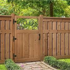 wood fence panels door. Wood Fence Panels Home Depot Privacy Door  .