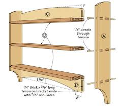 hang floating shelf without brackets new make a craftsman style wall shelf from popular woodworking
