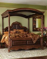 Hand-carved mahogany bed frame | This beautiful piece was ha… | Flickr
