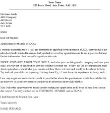 Gallery Of Cv Cover Letter Example Email Sample Follow Up Email