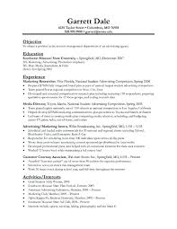 Sample Resume Management Position Classy Sample Resume For Accounting Manager Position Clerk With No