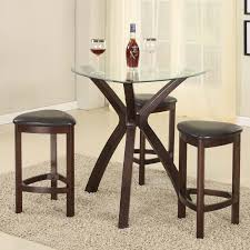 Counter Height Bistro Table Set Roundhill Furniture 4 Piece Counter Height Pub Table Set Reviews