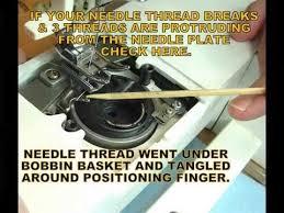 Bobbin Problems Singer Sewing Machine