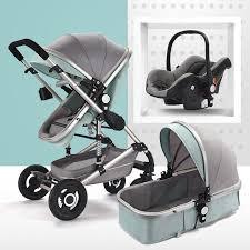 <b>2019 Multifunctional 3 In 1</b> Baby Stroller Aluminum Alloy Frame High ...