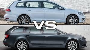 2018 volkswagen station wagon. Simple Wagon 2018 Volkswagen Golf Variant Vs 2017 Skoda Octavia Combi Youtube For  Station Wagon Intended Volkswagen Station Wagon F