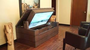 tv lift cabinet diy