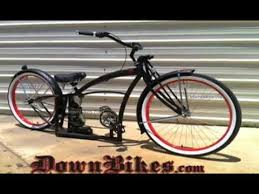 custom cruiser bicycle with air ride suspension many styles