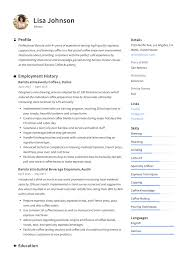 Resume Suggestion Barista Resume Sample Writing Guide Resumeviking Com