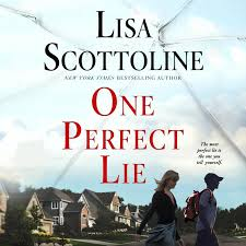 book cover lisa scottoline one perfect lie