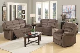 fabric recliner sofa. Jagger Brown Fabric Recliner Sofa Set