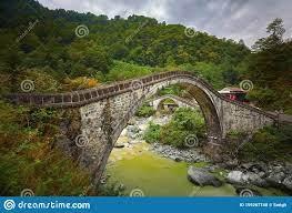 Historische Doppelbrücke Area Different Angle Arhavi, Artvin, Türkei  Stockfoto - Bild von asien, schwarzes: 159267740