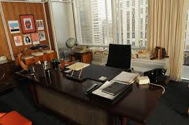 men office decor. The Brass, Teak And Leather Used In Mad Men Television Shows Office Sets Help Create An Understated Yet Powerful Vibe. Decor A
