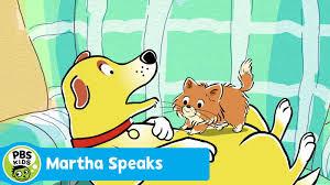 Trẻ học tiếng Anh qua phim hoạt hình Martha Speaks