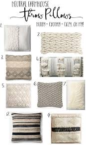 After scoring some yummy nubby, textured, neutral throw pillows at  HomeGoods, I thought I'd put together a little shop post if you too like to  layer up ...