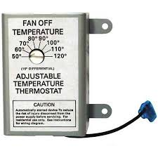 columbus electric attic fan thermostat attic fan control cooling dc solar thermostat