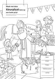 Kleur Deze Sint Kleurplaat In En Maak Albert Heijn Roden Facebook
