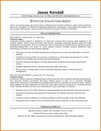 Collections Specialist Resume Sample Krida Info Inside Collection