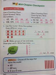 Counting Chart By Tens To 120 Math Page