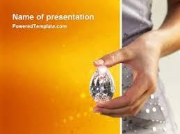 Diamond Powerpoint Template By Poweredtemplate Com Youtube