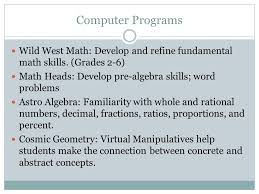 Assistive Technology: Math. Electronic Math Worksheets Electronic ...