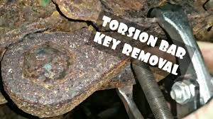torsion bar removal tool. how to remove tension adjust torsion bar keys!!! removal tool o