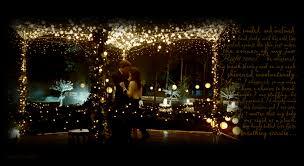 related ideas tent wedding twilight string lights backyard wedding lighting