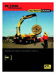 Palfinger Pk 23500 Performance Specifications Cranemarket