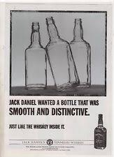 jack daniels advert  jack daniels smooth rare magazine advert a4 poster 005