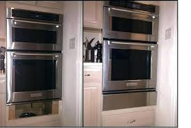 kitchenaid oven microwave combination