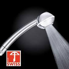 Duschkopf Swissclima I Shower Top Kräftig Für Mehr Druck Zb Durchlauferhitzer Und Weniger Wasser Verkalkungsfreie Handbrause Regenstrahl Aufsatz