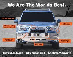 Ecb Bumper Lights Subaru Forester 01 2016 On Xt Models Frontal