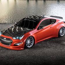2015 hyundai genesis coupe custom. Fine Genesis Carbon Fiber Hood On Red Hyundai Genesis Coupe  Photo By Rohana Wheels To 2015 Custom N
