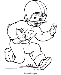 Coloring Pages Football Football Coloring Pages Sheets For Kids Sew Easy Pinterest