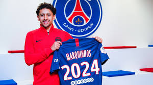 Defender Marquinhos Extends PSG Contract Until 2024