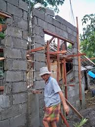 Concrete Wall Building Concrete Block House Part Philippines Netsportsclub How To Build Concrete Block House Tyres2c