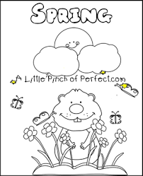 Small Picture Groundhog Day Free Printables Coloring Pages
