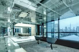office for design and architecture. Glass Office SOHO China,© Jerry Yin For Design And Architecture E