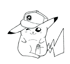 pokemon pikachu coloring pages free s for s