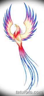 эскизы тату феникса для девушек 08032019 011 Tattoo Sketches
