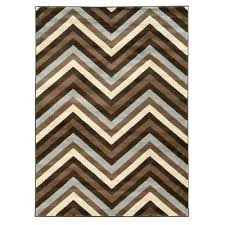 collection chevron chocolate and beige 8 ft x indoor area rug grey canada n ivory blue chevron area rug
