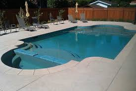 concrete pool decks.  Pool Remodeled Pool With New Poured U0026 Placed Concrete Coping Stamped Textured  In Decks