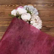 How To Wrap Flower Bouquet In Paper 4 5m Christmas Gift Wrapping Paper Gift Wrap Flower Bouquet Craft Roll 13 Colors