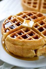 Light Fluffy Waffles Perfect Homemade Waffle Recipe