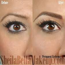 cles permanent brows sheila bella makeup los angeles