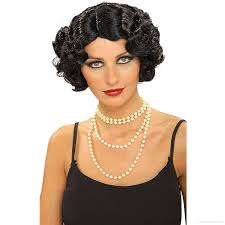 1920s Hair Style black short curly hairstyle 1920s 7205 by wearticles.com