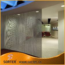 office cubicle curtains. Metal Ball Chain Curtain Room Divider Office Cubicle Curtains