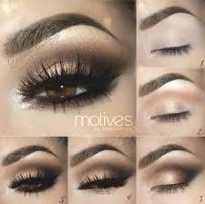 makeup tips gold smokey eye